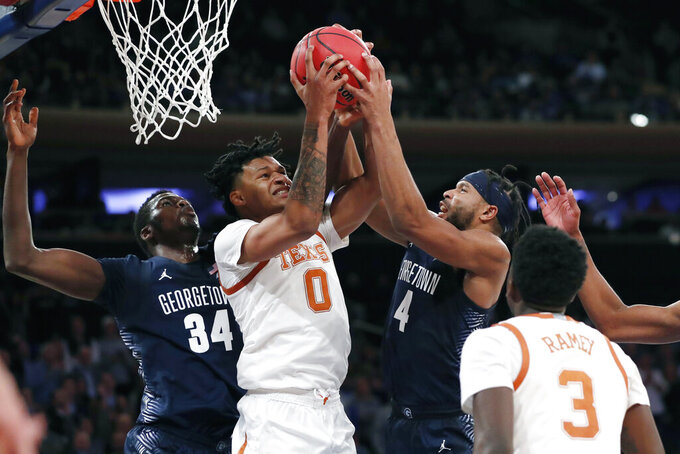Georgetown Hoyas at Texas Longhorns 11/21/2019