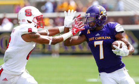 NC St East Carolina Football