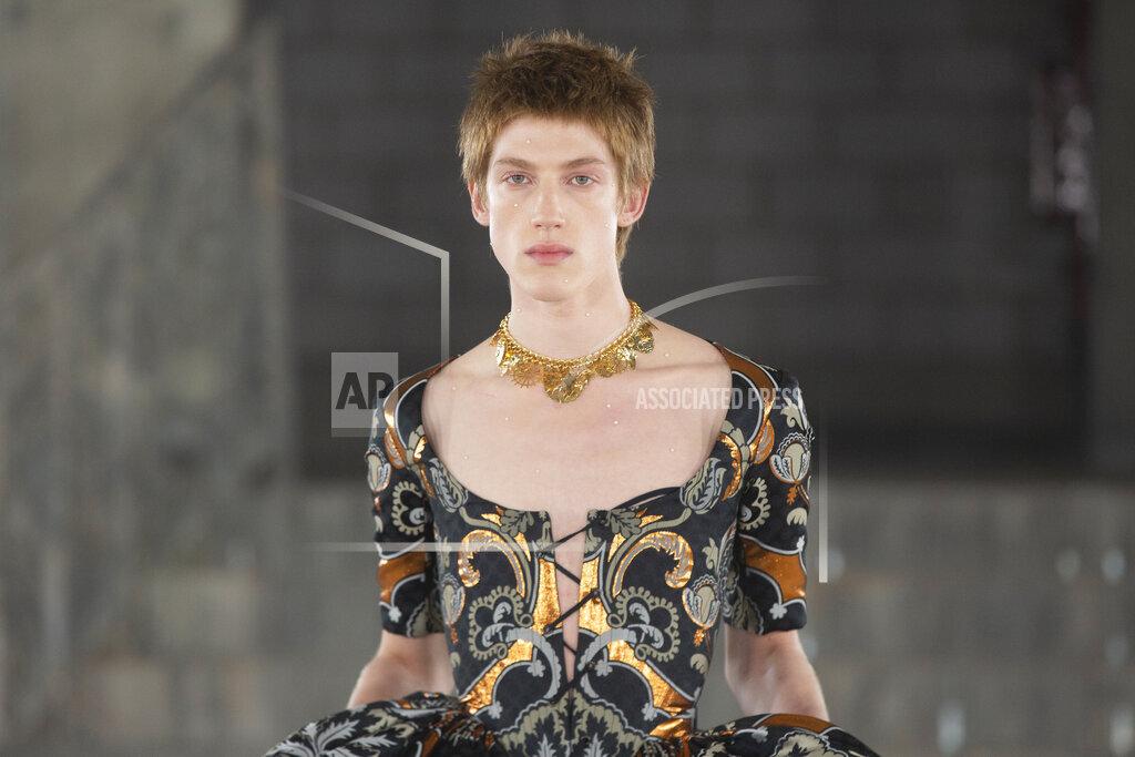 Britain Edward Crutchley Fashion Show