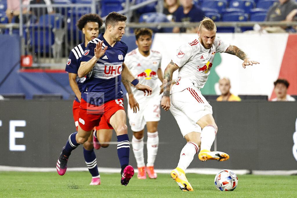SOCCER: MAY 22 MLS - New York Red Bulls at New England Revolution