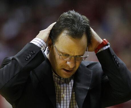 Indiana Crean Fired Basketball