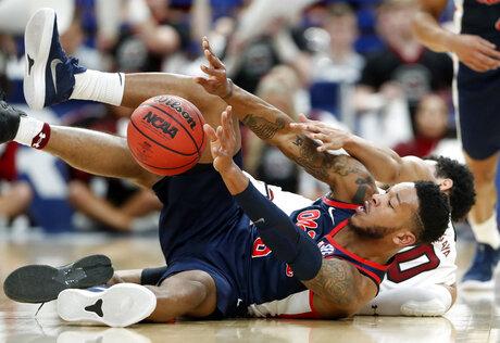 SEC Mississippi S Carolina Basketball