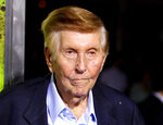 FILE - In this Oct. 1, 2012, file photo, Sumner Redstone attends the premiere of