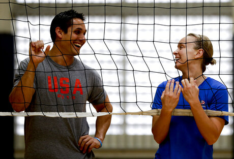 Rio Olympics Volleyball Coach Kayla