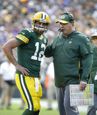 Packer Rodgers Football