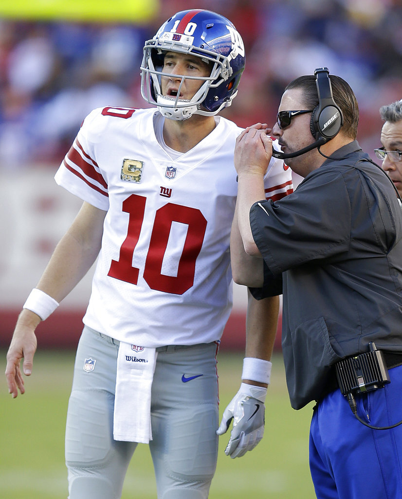 Eli Manning, Ben McAdoo