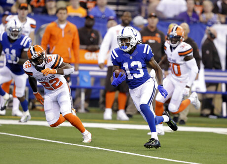 T.Y. Hilton, Jabrill Peppers