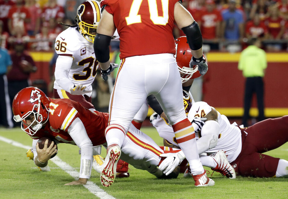 Alex Smith, Preston Smith, D.J. Swearinger