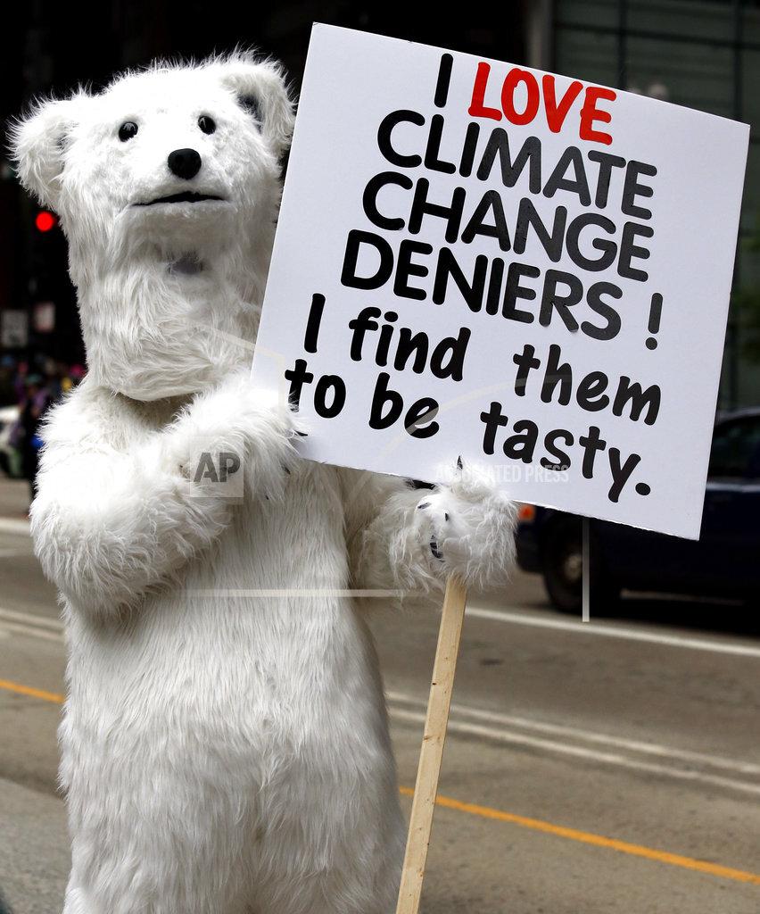 Trump 100 Climate Marches