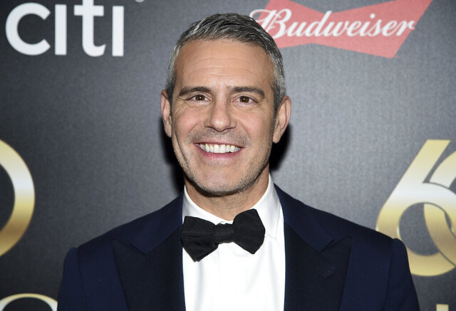 "FILE - In this  Wednesday, Sept. 25, 2019 file photo, Television personality Andy Cohen attends the 60th annual Clio Awards at The Manhattan Center in New York. Former star of ""The Bachelor"" Colton Underwood and talk-show host Andy Cohen have joined the growing group of celebrities who have tested positive for coronavirus, Friday, March 20, 2020. (Photo by Evan Agostini/Invision/AP, File)"