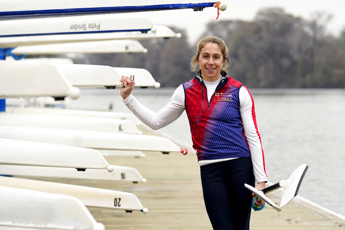Rower Stone pursuing Olympics that delayed medical career