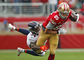TOPIX Broncos 49ers Football