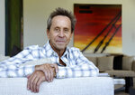 This Aug. 30, 2019 photo shows producer Brian Grazer posing for a portrait at his home in Santa Monica, Calif., to promote his book