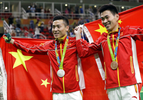 Rio Olympics Trampoline Men