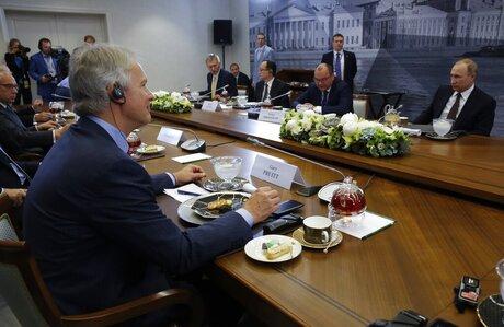 Vladimir Putin, Gary Pruitt