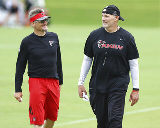Falcons Dimitroff Quinn Contracts Football