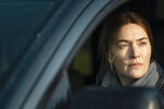 """This image released by HBO shows Kate Winslet in a scene from """"Mare of Easttown."""" The program is nominated for an Emmy Award for outstanding limited series. (HBO via AP)"""