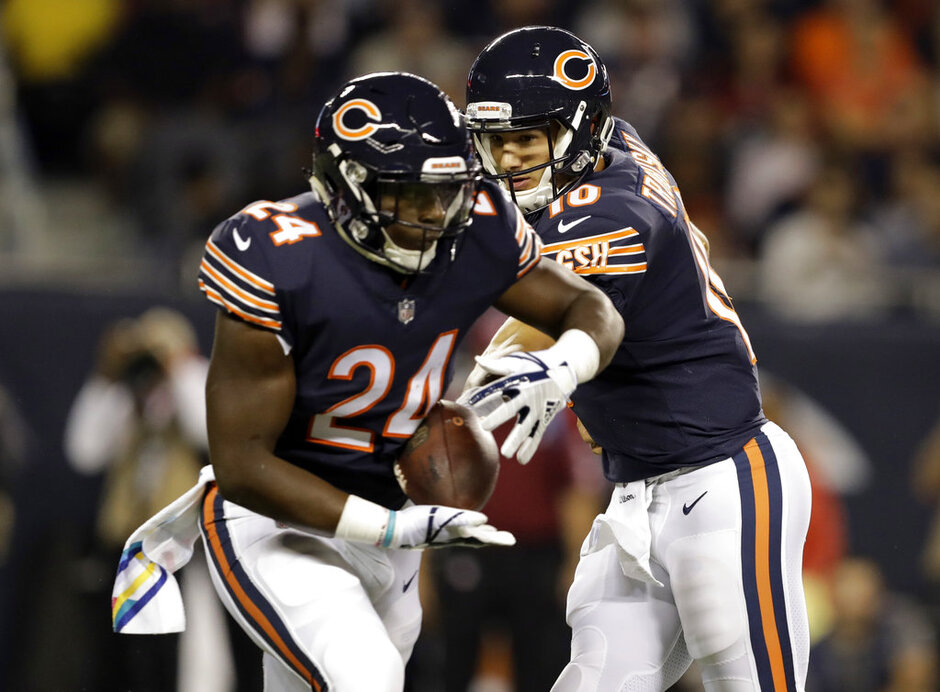 Mitchell Trubisky, Jordan Howard