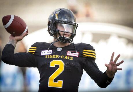 CFL Tiger Cats Argonauts Football