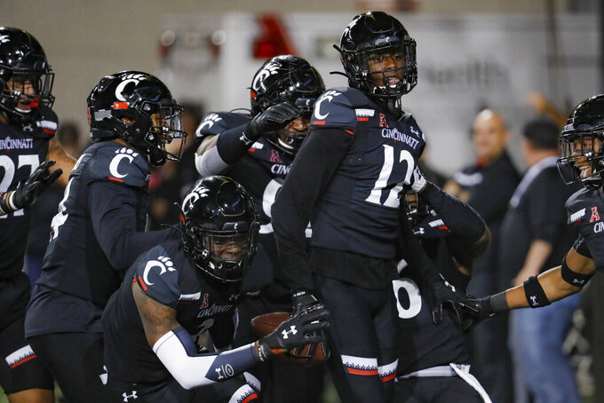 No. 25 Cincinnati tries to build off big win at Houston