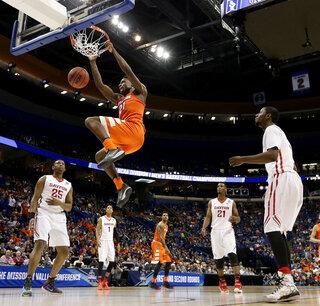 NCAA Syracuse Dayton Basketball