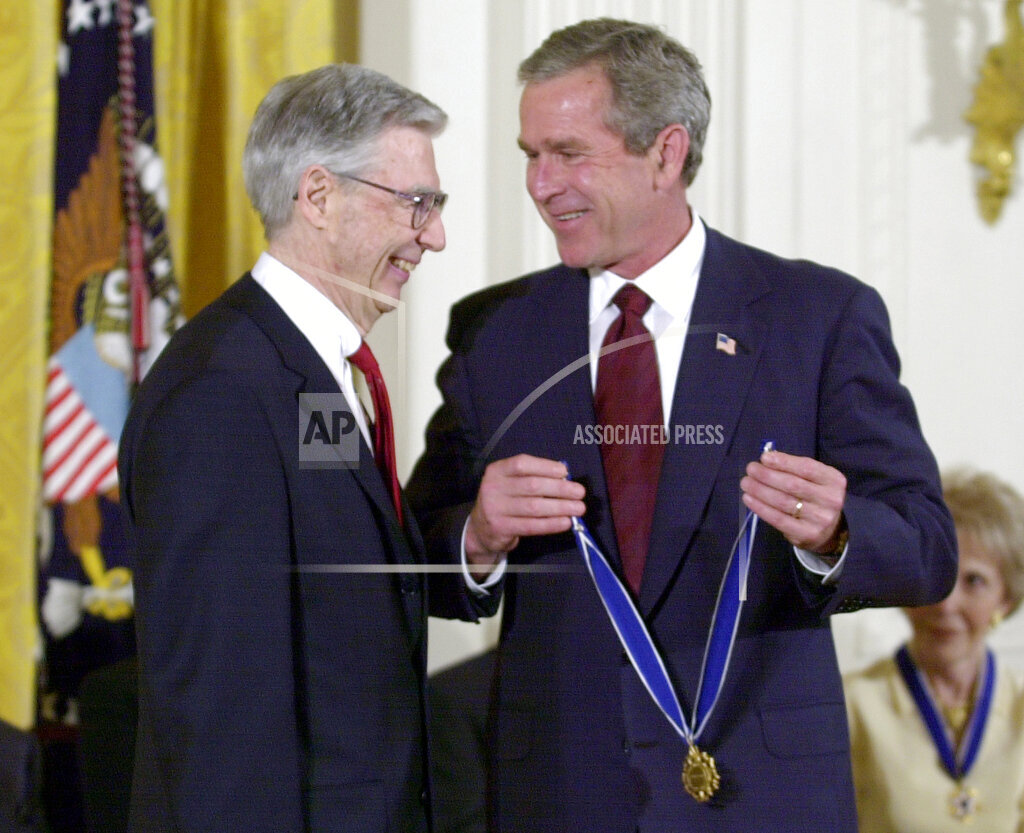 Associated Press Domestic News Dist. of Columbia United States Entertainment BUSH MEDAL