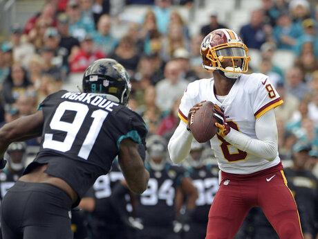 Redskins Jaguars Football