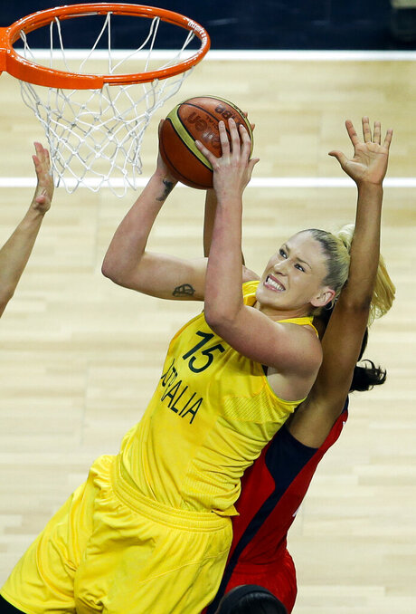Lauren Jackson Retires Basketball
