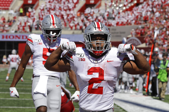Dobbins, Fields help No. 6 Ohio St. knock out Indiana 51-10