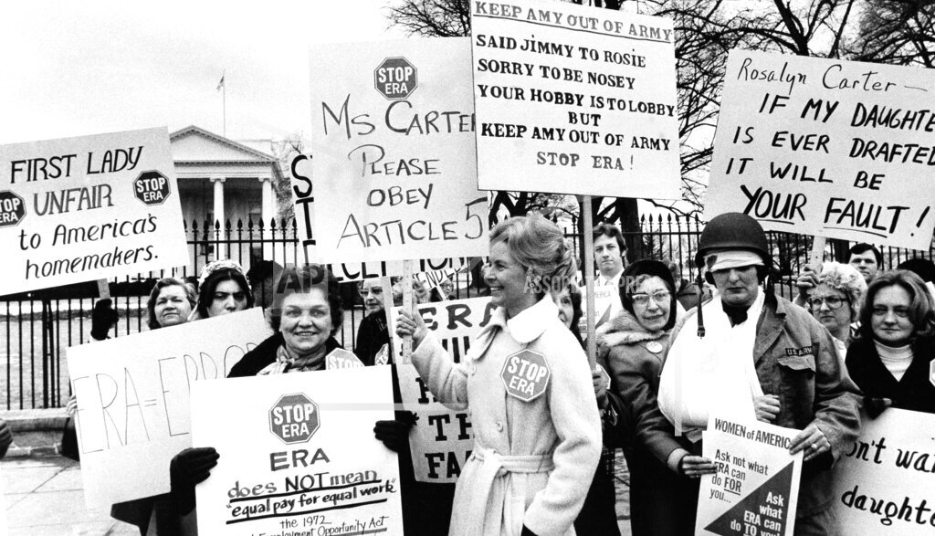 Watchf AP A  DC USA APHS262245 Phyllis Schlafly 1977