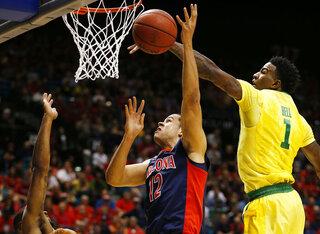 P12 Oregon Arizona Basketball