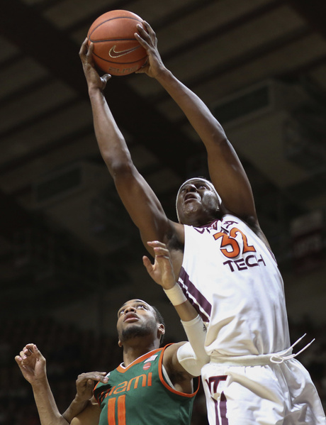 Miami Virginia Tech Basketball
