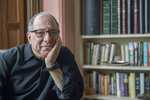 In this Saturday, March 10, 2018 photo, Michael Kimmel poses at his home in New York. Kimmel is a leader in what's known as