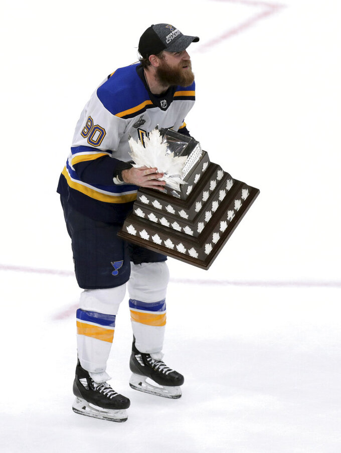 The Latest: O'Reilly wins Conn Smythe as playoff MVP