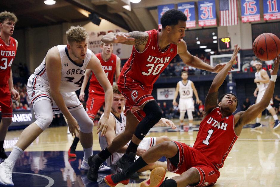 APTOPIX NIT Utah Saint Marys Basketball