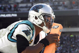 Panthers Eagles Football APTOPIX