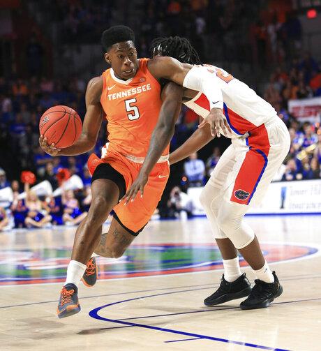Tennessee Florida Basketball