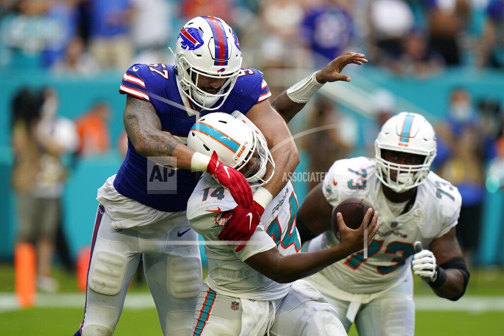 APTOPIX Bills Dolphins Football