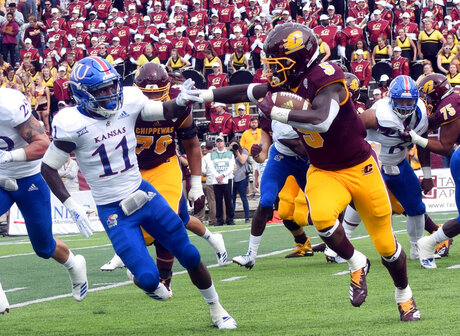 Kansas Central Michigan Football