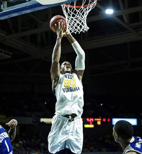 West Virginia W Carolina Basketball