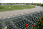 Monmouth Park racetrack is seen in Oceanport, N.J., Monday, May 14, 2018. The Supreme Court on Monday gave its go-ahead for states to allow gambling on sports across the nation, striking down a federal law that barred betting on football, basketball, baseball and other sports in most states. (AP Photo/Seth Wenig)