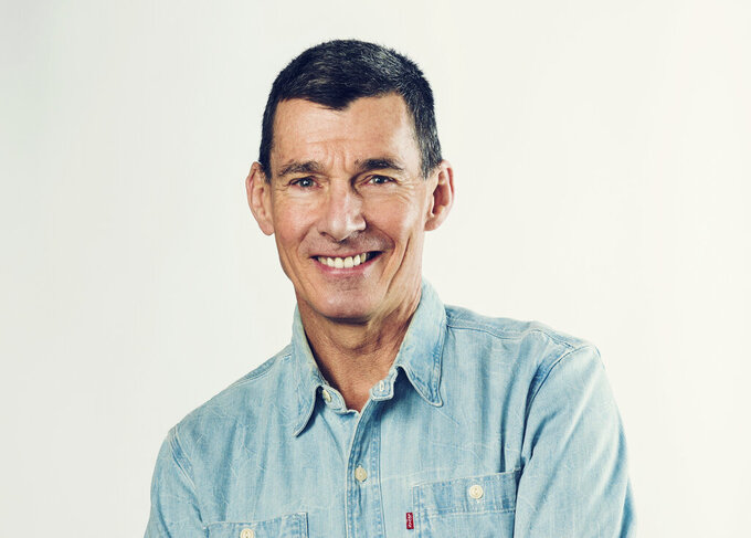 This photo provided by Levi Strauss & Co. shows the company's CEO Chip Bergh.  As Americans start to go out and update their wardrobes, jeans giant Levi Strauss & Co. is seeing a denim resurgence. That has helped the company upgrade its fiscal first-half outlook and has pushed shares of Levi's more than 30% higher so far this year.(Jessica Chou/Levi Strauss & Co. via AP
