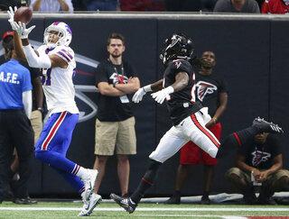 APTOPIX Bills Falcons Football
