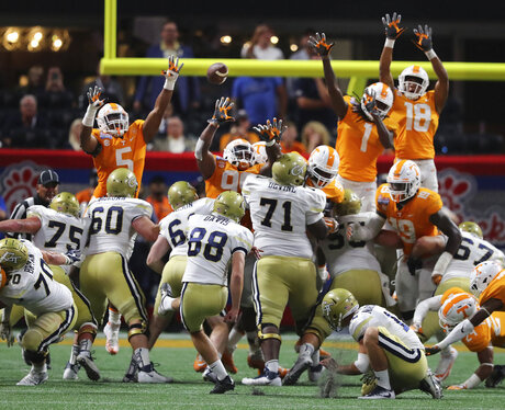Tennessee Georgia Tech Football