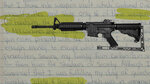 A photo illustration combining a defendant's letter to a judge in the case of weapons he stole from a Massachusetts armory and an evidence photo of an M4 carbine rifle. (AP Illustration/Nat Castañeda)