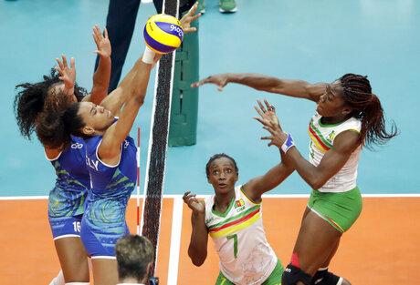 Henriette Nadege Koulla, Theorine Christelle Aboa Mbeza, Juciely Cristina Barreto