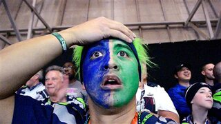 Seahawks Sad in Seattle