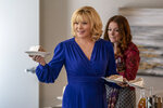 This image released by FOX shows Kim Cattrall, left, and Aubrey Dollar in a scene from