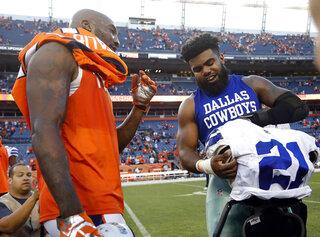 Cowboys Broncos Football
