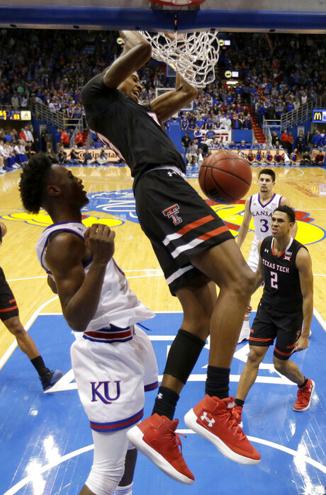 Texas Tech Kansas Basketball
